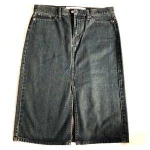 GAP Dark Jean Skirt